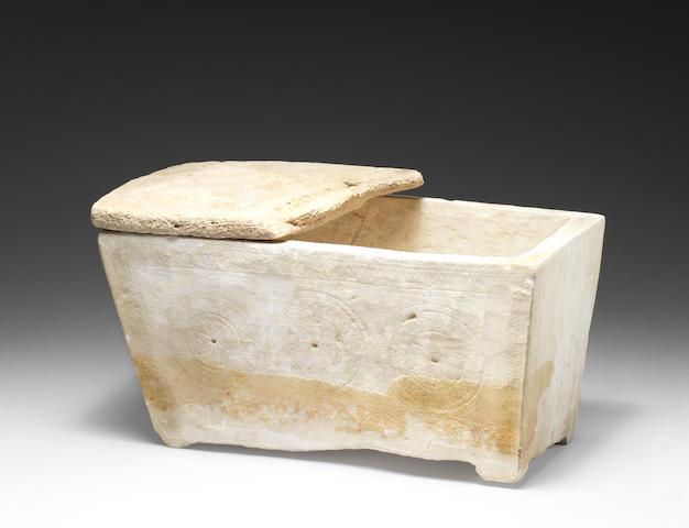 An early Jewish limestone Ossuary