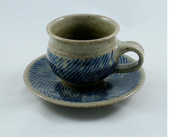 A collection of British studio pottery