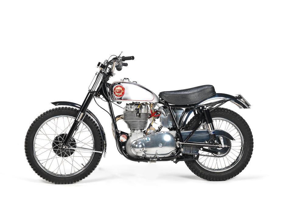 1961 BSA 499cc Gold Star Scrambler Frame no. CB32 10519 Engine no. DBD34GS 6128