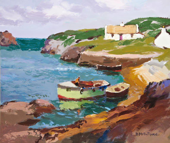 Donald McIntyre (British, 1923-2009) 'Little Harbour'