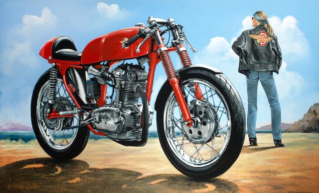 Tony Upson, 'Ducati 250 Mach 1',