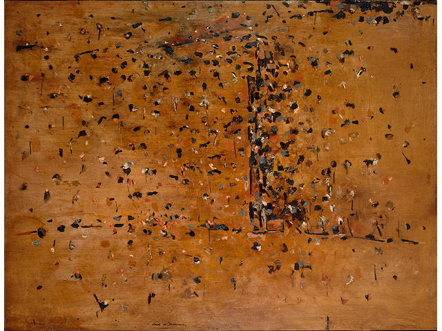 Fred Williams, You Yangs Landscape 1, 1963 . Estimate $1.5 -$2m