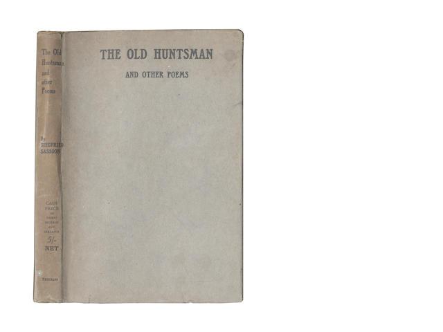 SASSOON (SIEGFRIED) The old Huntsman