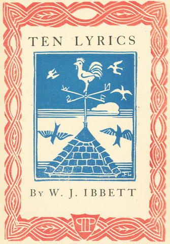 IBBETT (WILLIAM JOSEPH) Ten lyrics, 1924; and others (4)