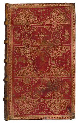 BIBLE, in Latin, Vulgate version Novum Jesu Christi Testamentum, 1649