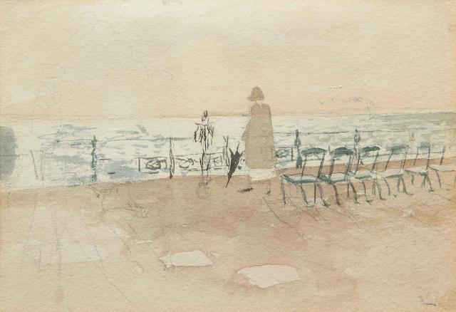 Mary Potter (British, 1900-1981) Brighton Promenade