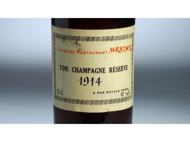 Fine Champagne Réserve Cognac 1914 (1)