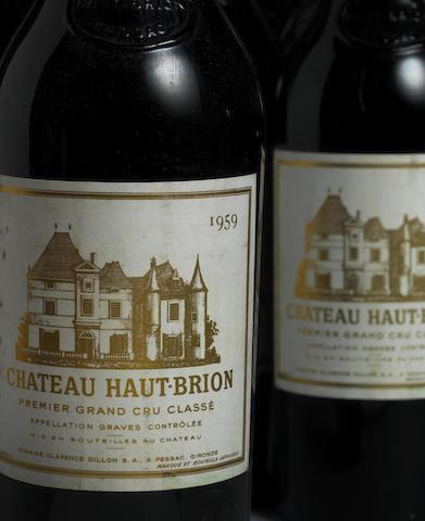 Chateau Haut-Brion 1959 (8)