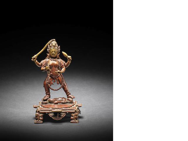 Tibetan bronze, 15th c.