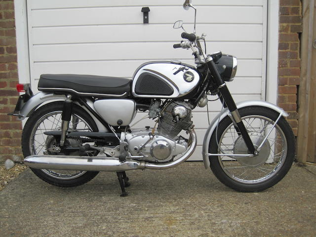 1966 Honda 305cc CB77 Frame no. 1023453 Engine no. 1023468