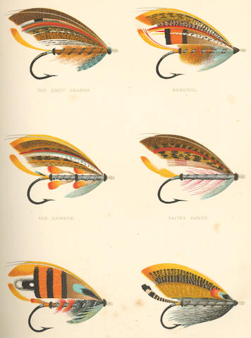 ANGLING KELSON (GEORGE M.) The Salmon Fly: How to Dress It and How to Use It, 1895