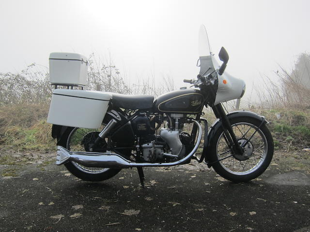 1955 Velocette 350cc MAC Frame no. 2S-5738 Engine no. MAC-22048