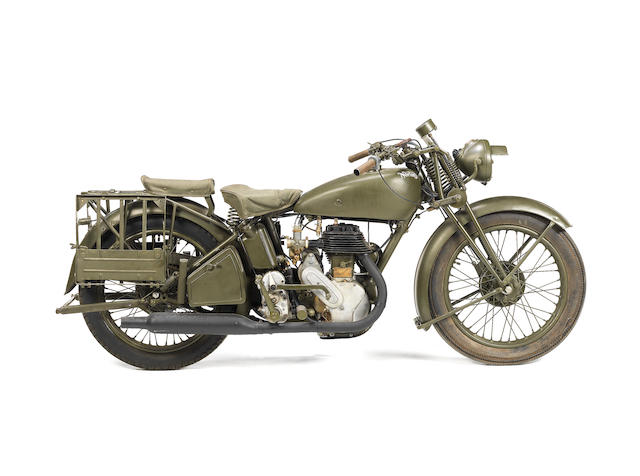 c.1944 Norton 490cc Model 16H Military, Frame no. W91116 Engine no. W93521