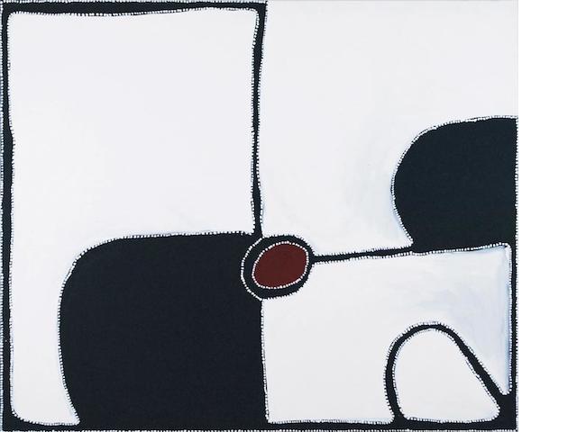 Paddy Bedford (circa 1922-2007) Brumby Spring, 2003