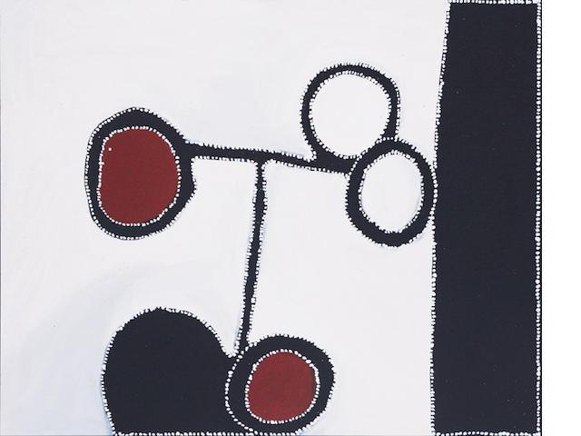 Paddy Bedford (circa 1922-2007) Joowarringayin (Donkey Spring), 2004