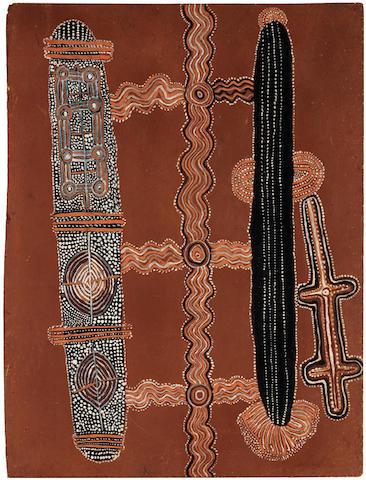Uta Uta Tjangala (circa 1926-1990) Special Pintupi Travelling Ceremony, 1972