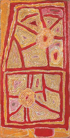 Wimmitji Tjapangarti (circa 1925-2000) Untitled, 1992