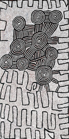 Yala Yala Gibbs Tjungurrayi (circa 1925-1998) Untitled, 1998