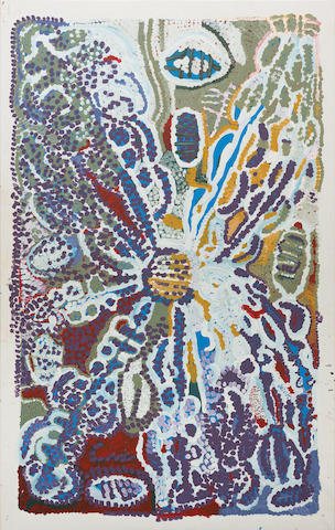 Lorna Fencer Napurrula (circa 1920-2006) Yarla (Bush Potato), 1999
