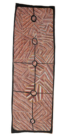 Anna Wurrkidj (born circa 1975) Mardayin Design, 2001