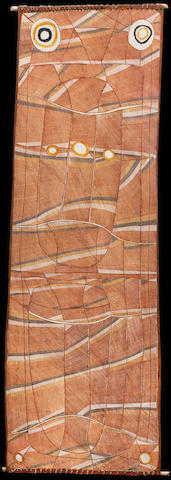 John Mawurndjul (born circa 1952) Mardayin design, 2004