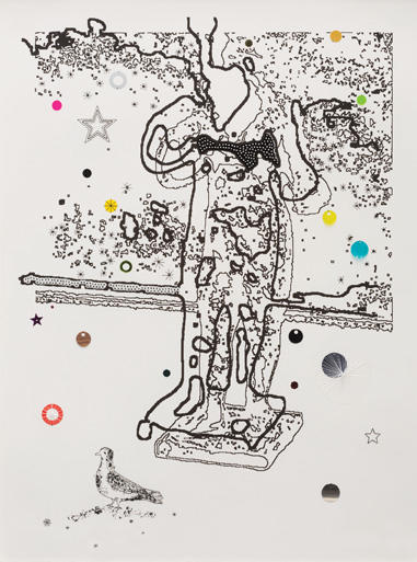 Louise Weaver (born 1966) Ghost Feeding a Bird, 2001-2002