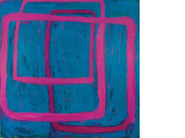 Ildiko Kovacs (born 1962) Travelling Pink Line, 1995