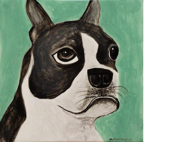 Noel McKenna (born 1956) Untitled (French Bulldog), 2001