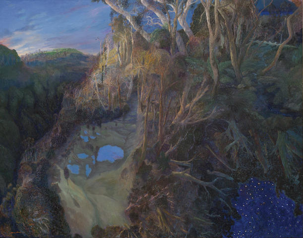 William Robinson (born 1936) Blue Pools Springbook, Springbook to Beechmont, 2000