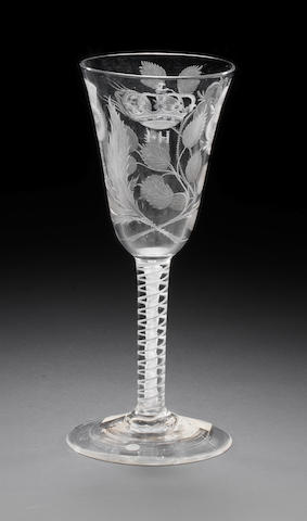 The Hey Goblet: an important Jacobite goblet, circa 1768