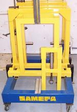 A Motoliner motorcycle frame straightening jig,