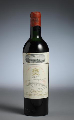 Chateau Mouton Rothschild 1946 (1)