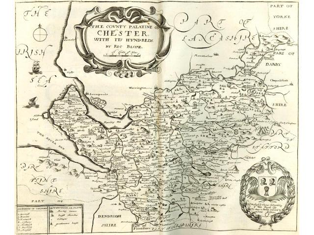 [BLOME (RICHARD)] Britannia: or, A Geographical Description of the Kingdoms of England, Scotland, and Ireland, 1673