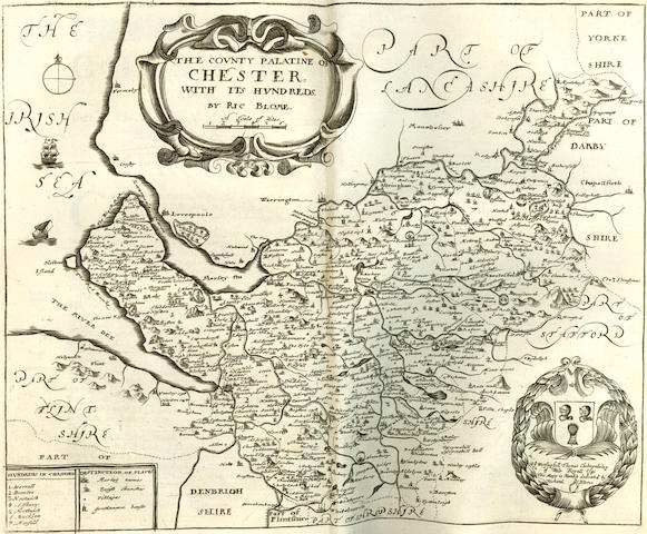 [BLOME (RICHARD)] Britannia: or, A Geographical Description of the Kingdoms of England, Scotland, and Ireland, 1673