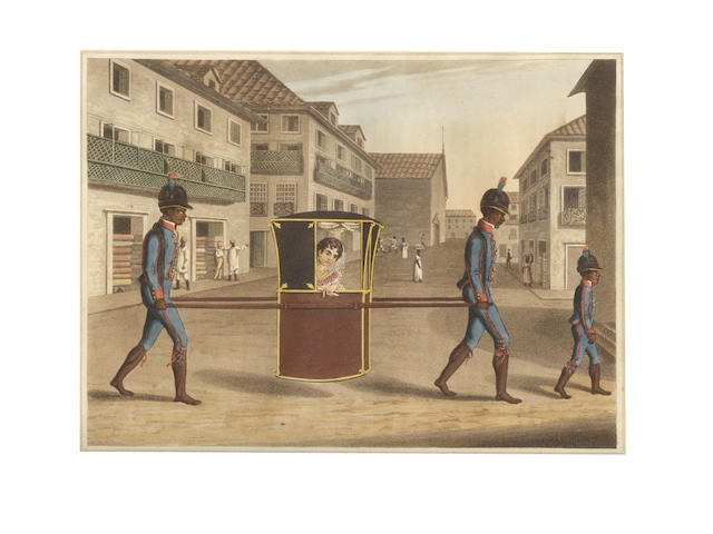 KOSTER (HENRY) Travels in Brazil, lacks one plate, 1816