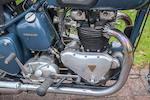 1950 Triumph 650cc Thunderbird Frame no. 13982N Engine no. 6T 13982N