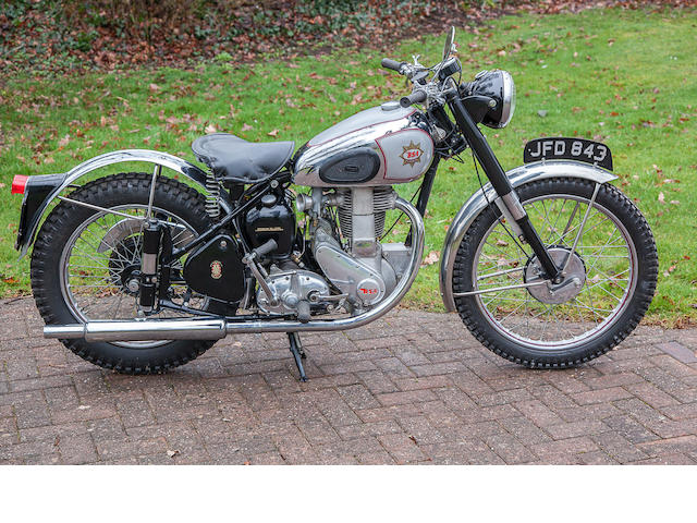 1949 BSA 350cc B32 Gold Star