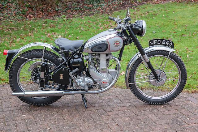 1949 BSA 350cc B32 Gold Star