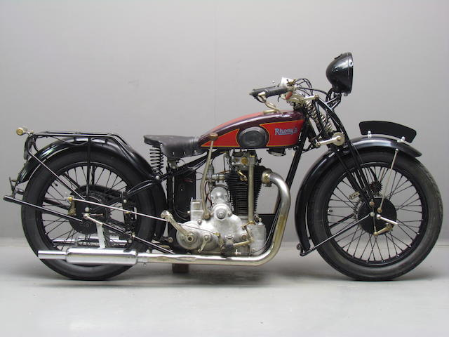 c.1928 Rhony'x 499cc Model 'GX' Frame no. C 849 Engine no. 2394