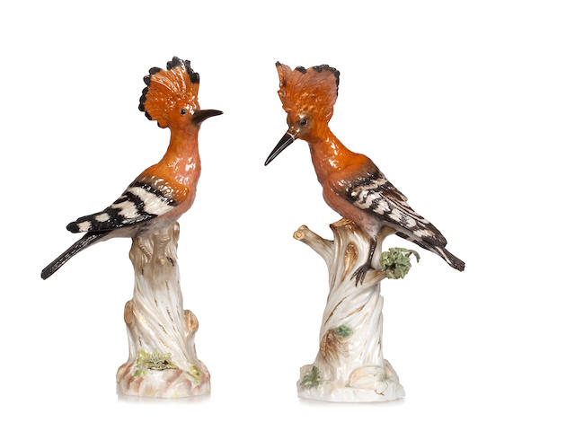 A pair of Meissen models of woopees