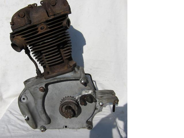 A New Hudson 500cc OHV engine, circa 1932,