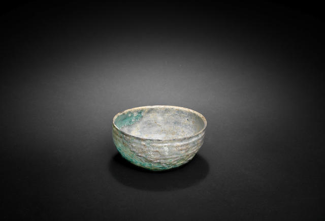 A mould blown glass Bowl Syria or Persia, 11th Century