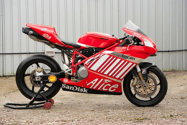 Offered from the estate of the late Clifford Jones, built by Ducati Corse,2007 Ducati 999 'Desmosedici Casey Stoner Replica'