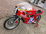 Offered from the estate of the late Clifford Jones, the ex-Mal Kirwan,c.1966 Aermacchi 350cc Ala d'Oro Racing Motorcycle Frame no. 141229