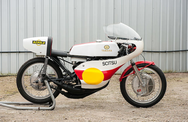 Property of a deceased's estate,c.1973 Yamaha 525cc Three-Cylinder Racing Motorcycle Engine no. 521-001240