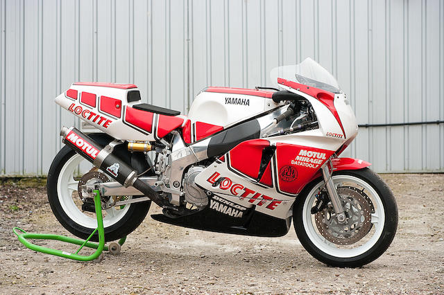 Offered from the estate of the late Clifford Jones,c.1990 Yamaha FZR750R OW01 Racing Motorcycle Frame no. 004878