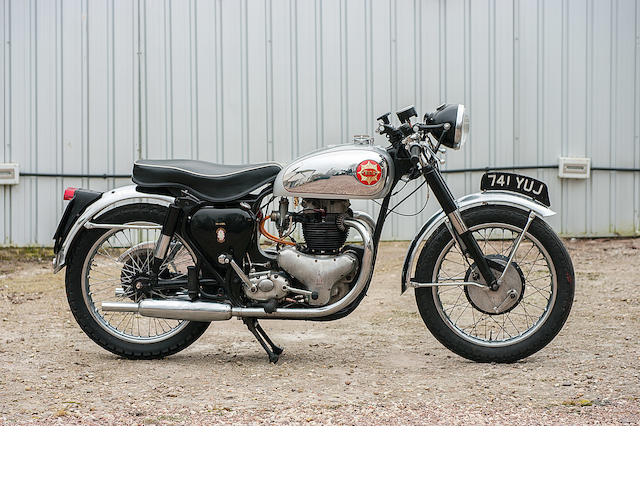 BSA Gold Star fitted with 650cc Super Rocket engine