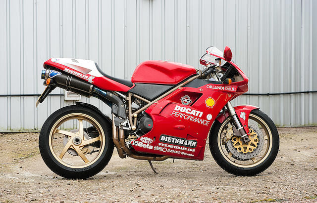 Offered from the estate of the late Clifford Jones,1998 Ducati 916SPS 'Fogarty Replica' No. 075 Frame no. ZDMH100AAWB001680 Engine no. 001837