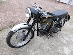 Offered from the estate of the late Clifford Jones,1959 Velocette 499cc Venom Frame no. RS10828 Engine no. VM2161