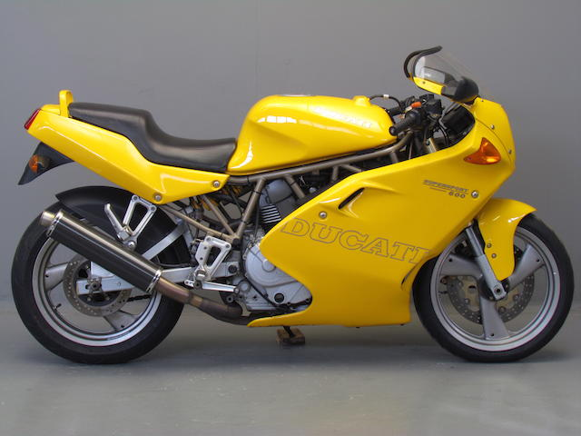 1997 Ducati 583cc Supersport Desmodue